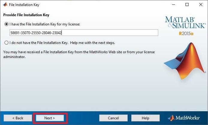 3. Serial Key MATLAB
