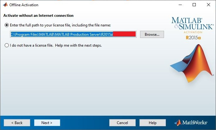 9.2. Memasukkan activation file