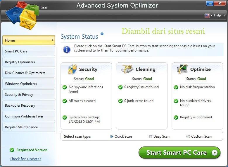 Advenced System Optimizer