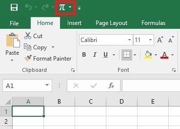 Menambah icon di Quick Access Toolbar