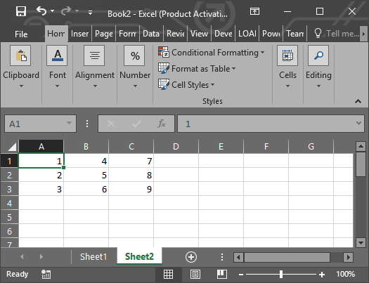 import sheet excel pada matlab