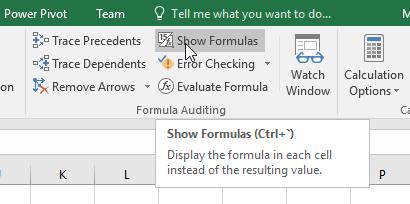Cara Menampilkan Formula Pada Worksheet Excel