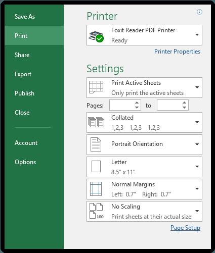 Mencetak Komentar Pada Excel
