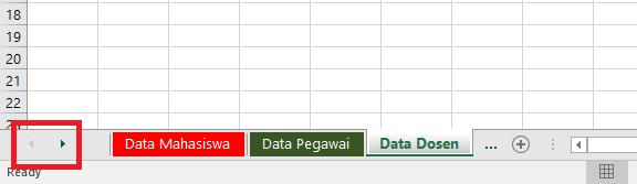 Tombol navigasi (tab sheet)