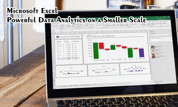 Excel ilmu data