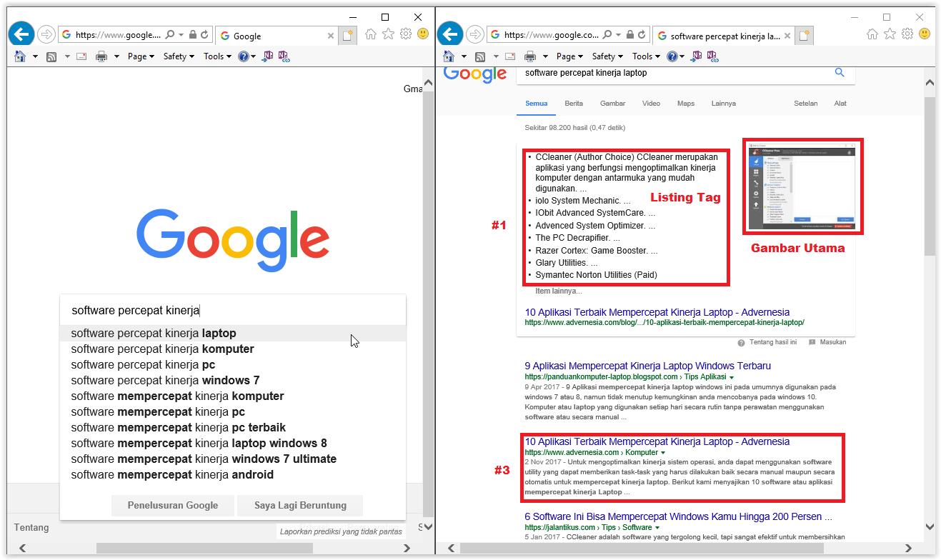 Menggunakan tag html pada blog