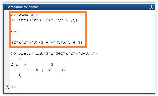 Penyelesaian integral terhadap variabel tertentu