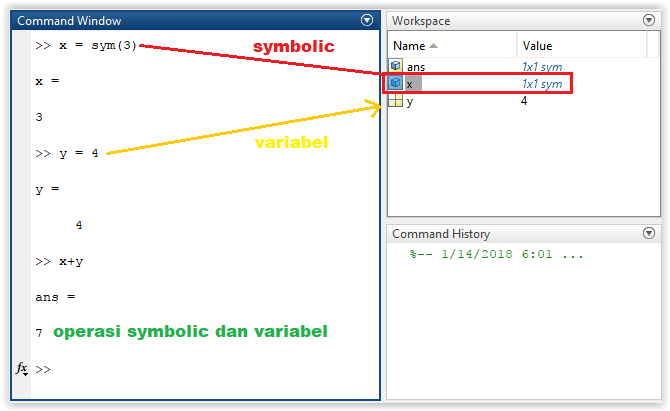 Perbedaan object dan variabel
