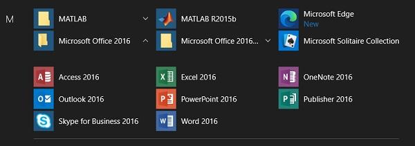 Beberapa Software Aplikasi pada Komputer