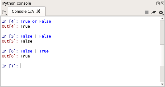 Operator OR Python