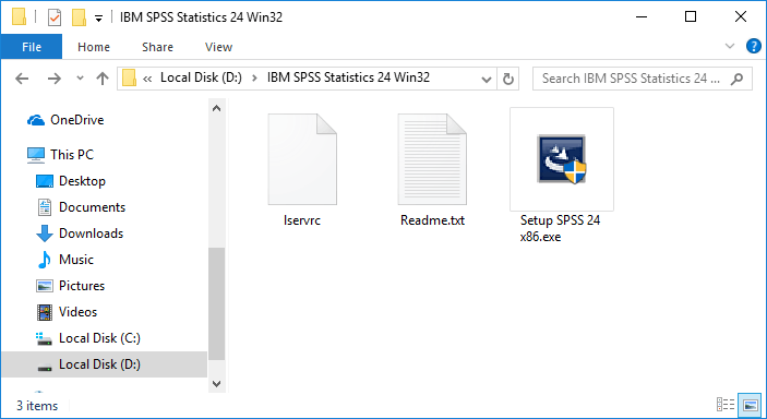 Dwonload SPSS 24 File