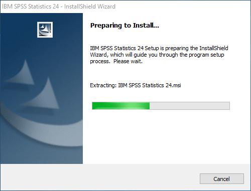 Membuka FIle installasi SPSS