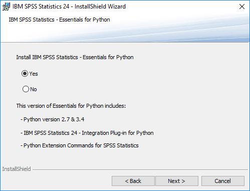 SPSS Essentials for Python