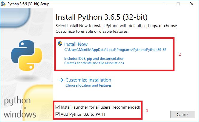 file installer python