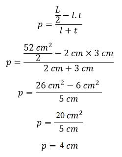 Cara menghitung panjang balok jika diketahui luas permukaannya