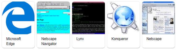 Contoh browser lainnya