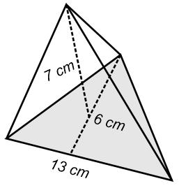 Contoh menghitung volume limas segitiga