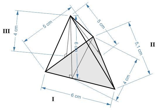 Menghitung luas permukaan limas