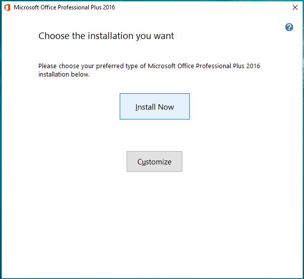 4). Klik install now