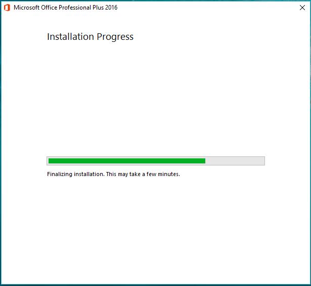 5). Tunggu proses install selesai