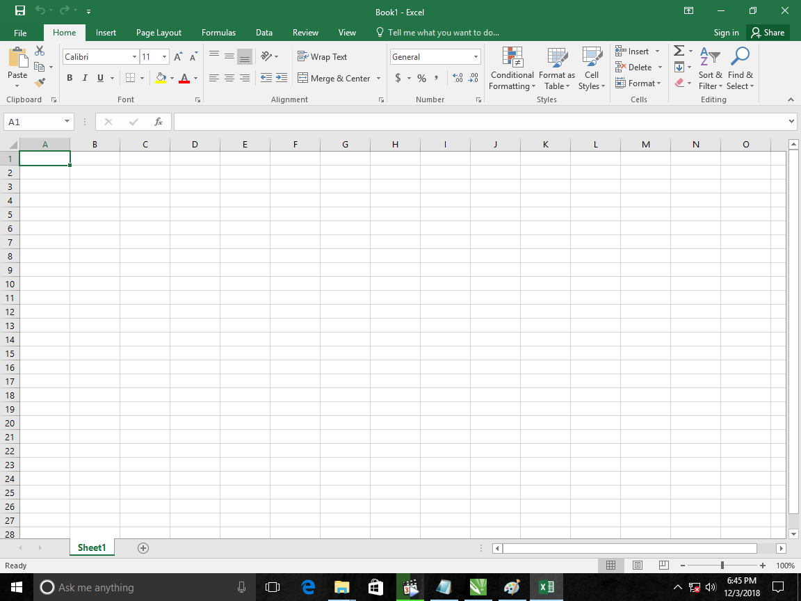 9). Test Microsoft Excel