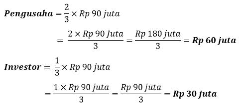 Cara menghitung perbandingan