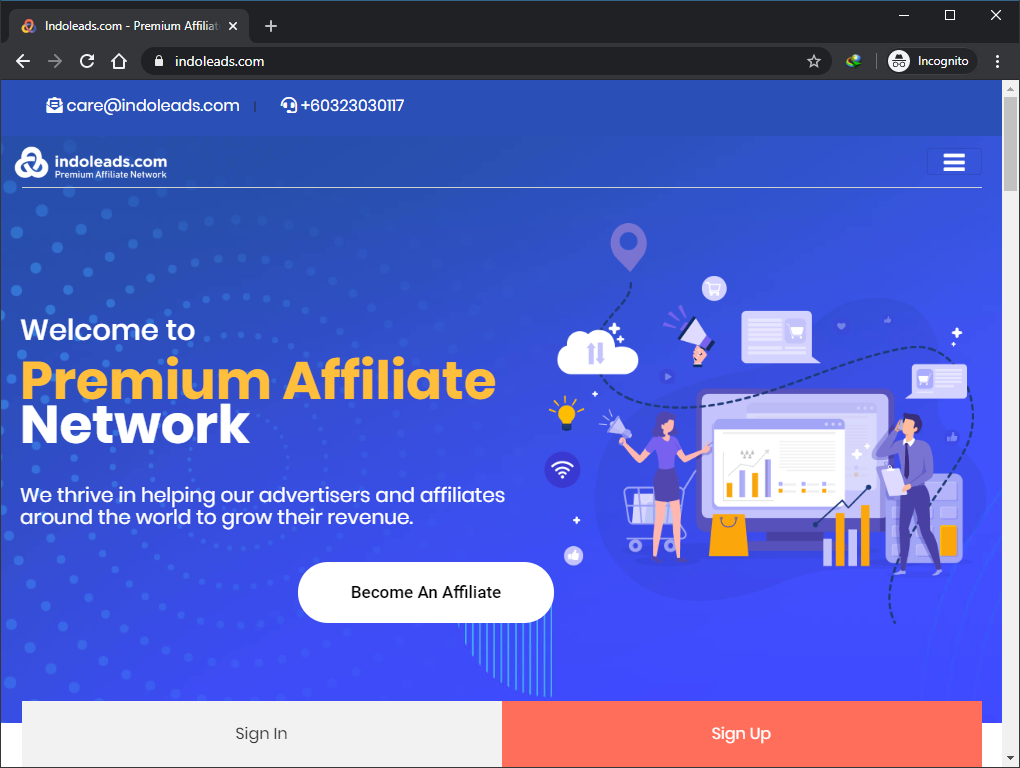 Salah Satu Platform Affiliate Marketing di Asia