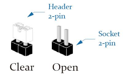 Cara Clear CMOS dengan Jumper 2-PIN