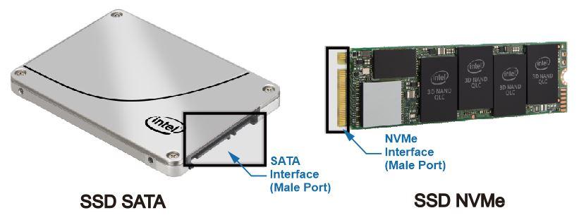 Perbandingan SSD SATA dan SSD NVMe