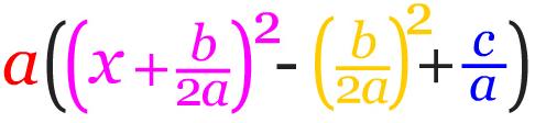 Mengembalikan nilai a pada persamaan kuadrat